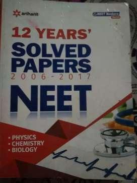 Neet practice of last 12 years MCQ