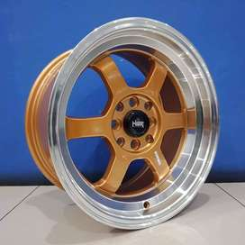 PELEK RACING XENIA RING 16X7/8 H8X100-114,3 PINK/GOLD ML