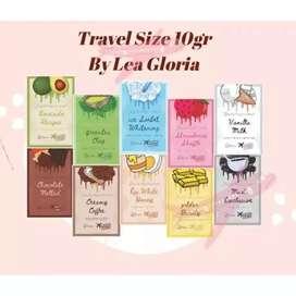 Travel Size Masker Wajah Organik By LEA Gloria 10gr.