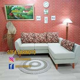 Sofa sudut retro cruise