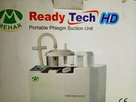 Electronic suction  machine