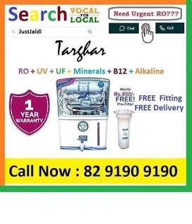 Targhar18.3 AquaGrand RO Water Purifier Water Filter AC dth bed car TV