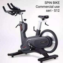 Jual alat fitness spining bike comercial gym mist