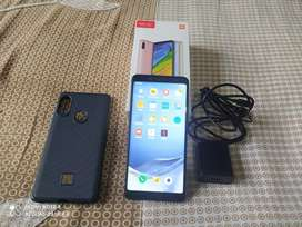 Mi note 5 pro (4, 64gb)with bill box charger cover fullyworking MIUI12