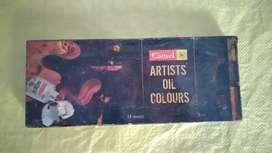 Artist oil colors