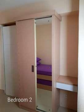Apartemen Dijual Basura 2br Murah udh Fullfunish plus biaya diBasssura
