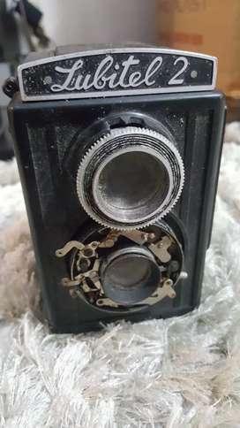 Kamera Lubitel 2 TLR Camera (Rusia)