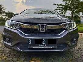 Honda City E AT 2017 Abu-abu