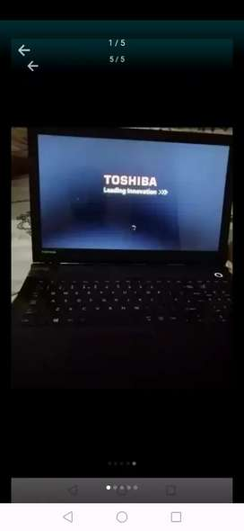 Toshiba satellite core i3 5th generation