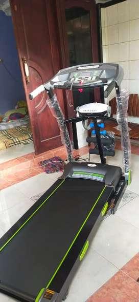 Treadmill listrik auto incline