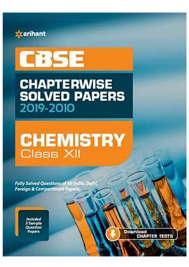 Arihant chapterwise chemistry for class 12 boards