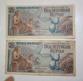 Uang Kertas Jadul Sekali