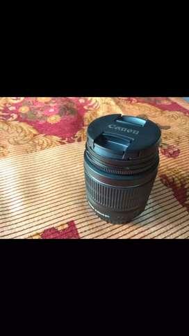 Brand new canon 18-55 lenses