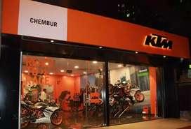 KTM showroom requirements