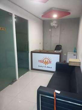 1600 sqft furnished office 4rent in noida sec-63