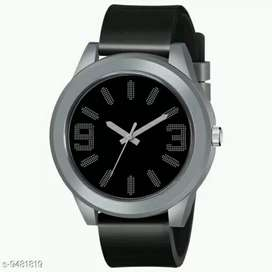 Black analogue watch for men || Free home delivery available with COD