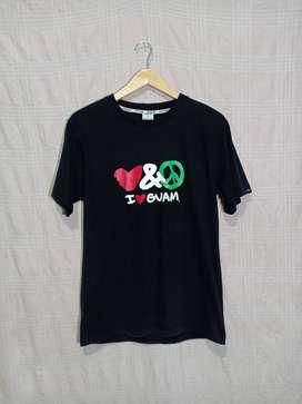 Kaos i love Guam