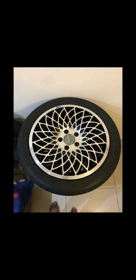 Mercedes Rims American Alloy wheels (WCI MT 10) Import