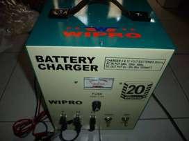 (RUMAH TEKNIK JOGJA),mesin charge aki, 20 ampere, WIPRO, murah