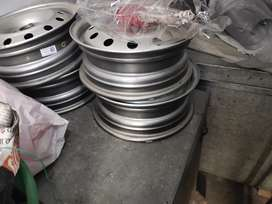 Rs 3600 price Brand new car wheels along with wheel cover.