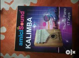 Kalimba hand piano