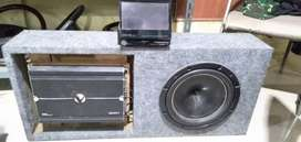 Set box veenom dan Head unit audio pioneer