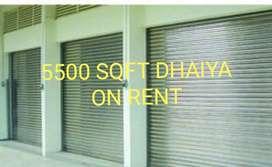 Showroom space dhaiya