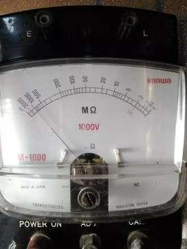 Sanwa model : DM - 1000 normal mesin orisinil