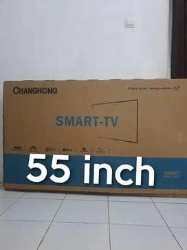 Tv led 55 inci smart _ kawa tukartambah hp