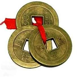 LUCKY COINS FOR MONEY LUCK