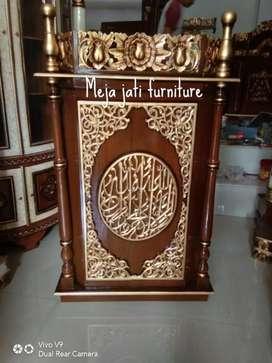 Mimbar masjid R107 atena model