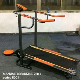 Treadmill Manual 2 Fungsi 2 in 1 // Kamis Gym 17.26