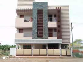 New house with 3 floors,modular kitchen for sale