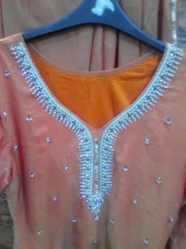 A party wear dress in good condition