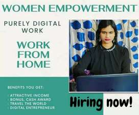 hiring female for work from home