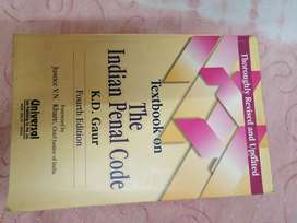 The Indian Penal Code - K. D. Gaur - fourth edition