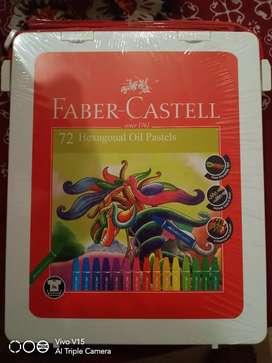 Crayon Hexagonal Oil Faber Castell 72 warna