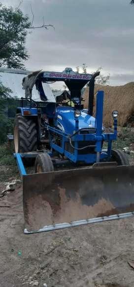 5500 tractor with dozer