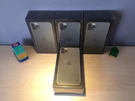 NEW iPhone 11 Pro Max varian Space Gray Gold Midnight Green 256 GB