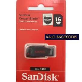 SANDISK Cruzer Blade CZ50 Flash Disk USB 16GB 100% Original