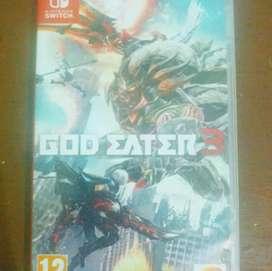 Nintendo Switch God Eater 3