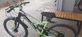 Herosprint 21 gear shimano,disbrake,shockup  , 1year2months