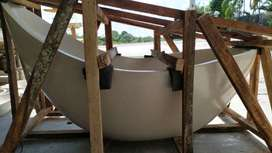 Bathtub Type Bulan Sabit Terrazo (Diskon 10%)