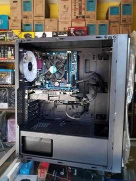 PC GAME DESAIN INTEL i5 3470-8GB-SSD 120GB-GTX 950 2GB-500WATT-FAN RGB