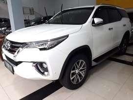 Toyota Fortuner VRZ At Doble Disc 2017  plat Genap kredit DP Minim