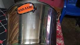 Steel big size gamla 2side handle for sales urgent need money unused