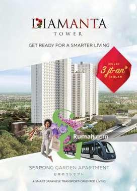Jual murah BU Serpong Garden Tower Diamanta Studio