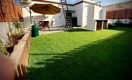 New roof top Artificial grass service
