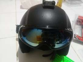 Kaca mata anti angin untuk helm bogo