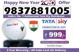 Tata Sky DTH Distributor #No.1 Tatasky D2H Dish Seller All India- COD